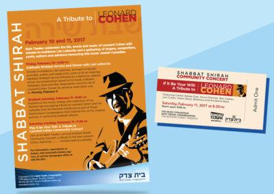 Leonard Cohen Tribute Concert